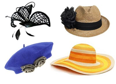 Turn heads this spring with a fancy hat