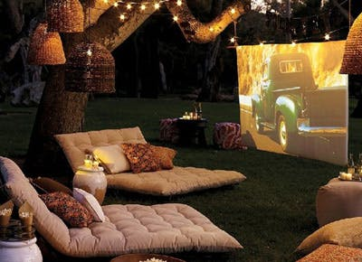 Outdoor home movies