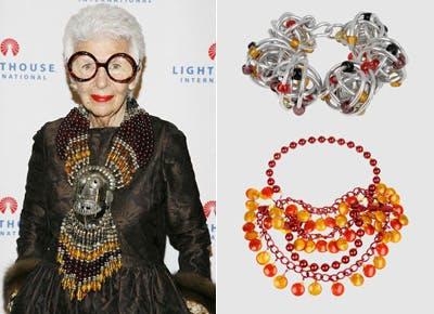 Iris Apfel for Yoox.com