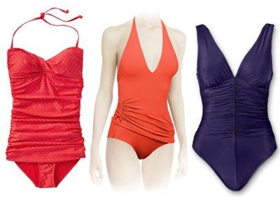 Figure-flattering swimwear