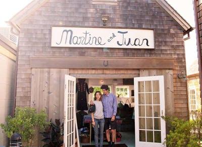 Martine and Juan