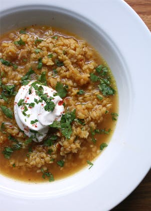 Pretty Lentil Soup