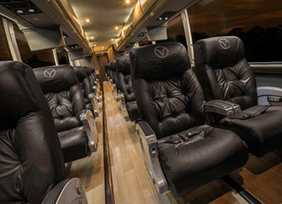 Take a luxury bus from Dallas to Austin