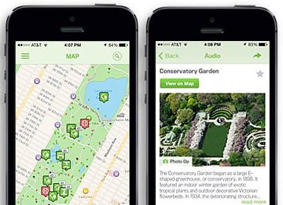 Central Park App