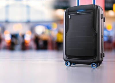 The world's first smart suitcase