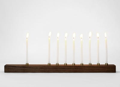 The Worlds Prettiest Menorah?