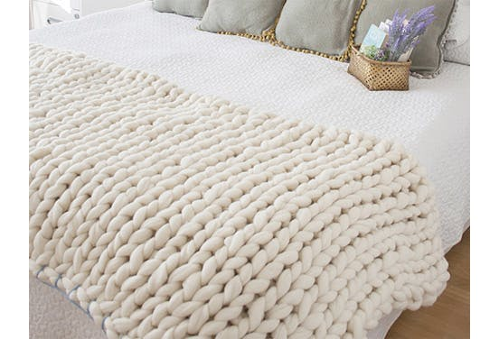 Chunky Knit Blanket 5521
