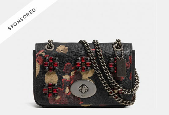 Coach Mini Chain Crossbody