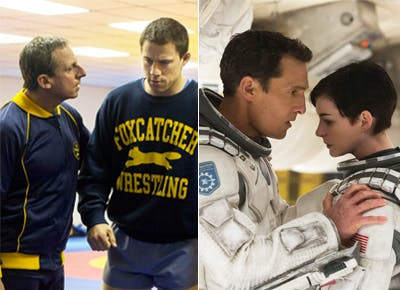 Foxcatcher vs. Interstellar