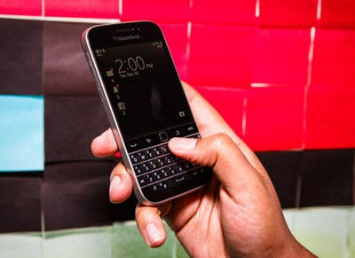 The BlackBerry is Back