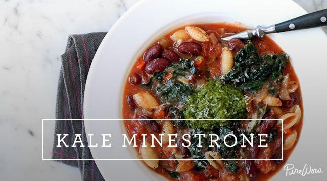 Kale Minestrone
