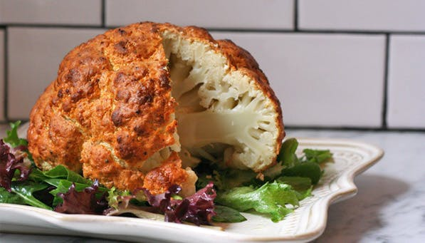 purewow whole cauliflower