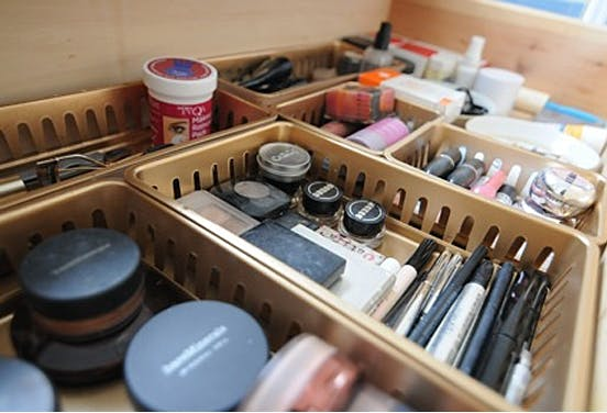 How To Organize Vanity 1