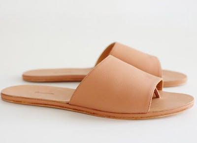 The sandal with a secret