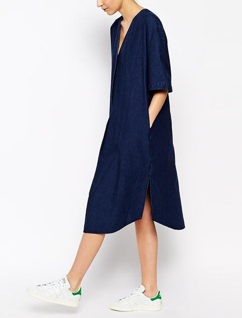 denim dress asos