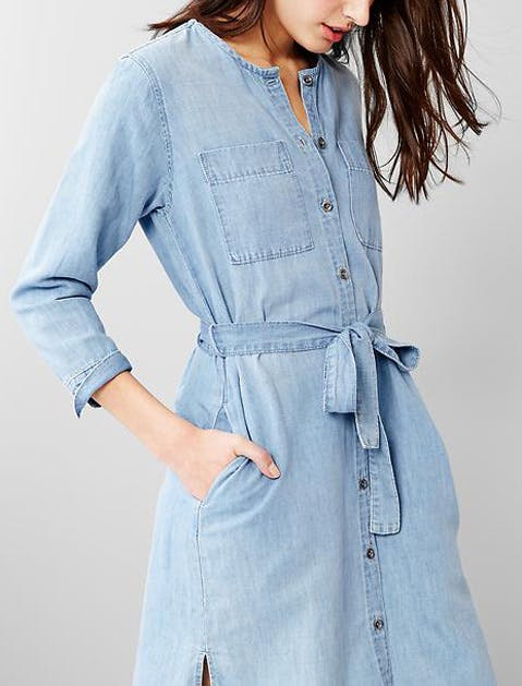 denim dress gap