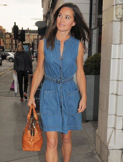 denim dress pippa