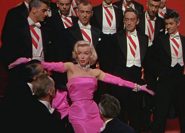 leaving netflix gentlemen prefer blondes