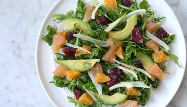 purewow citrus salad