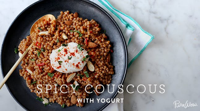 Spicy Couscous with Yogurt