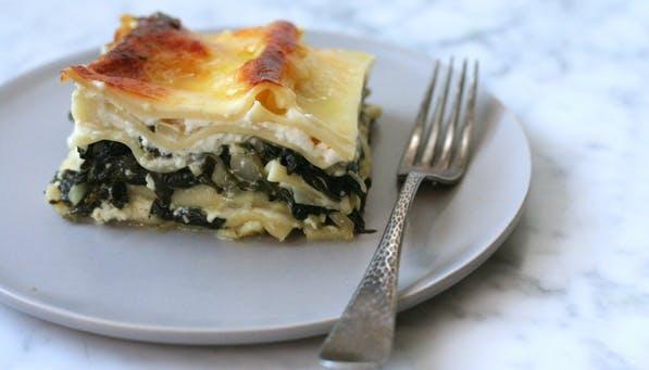 purewow green lasagna