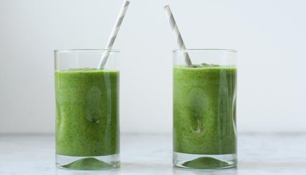 purewow green smoothie
