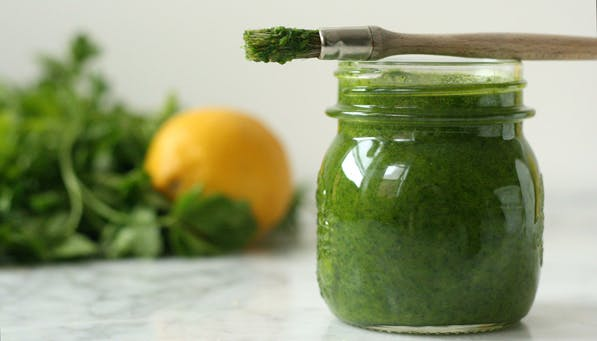 purewow lemon herb sauce