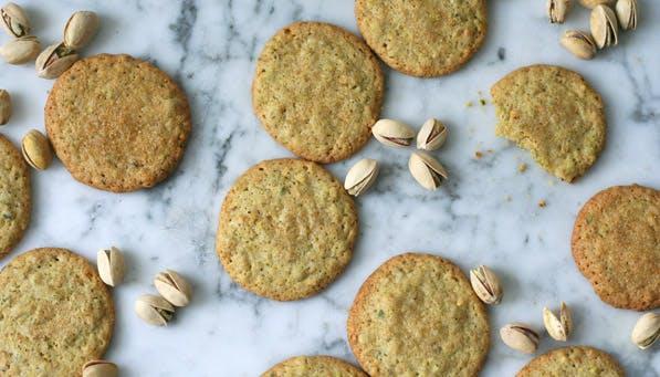 purewow pistachio cookies
