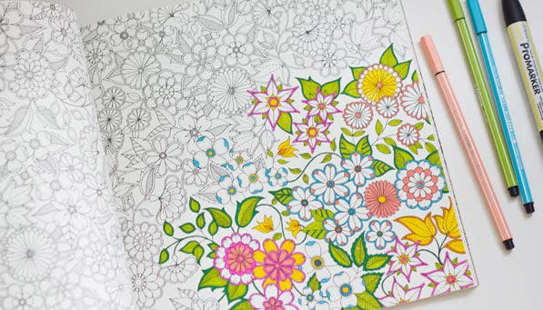 adult coloring 2 - Abbi Jacobson Coloring Book