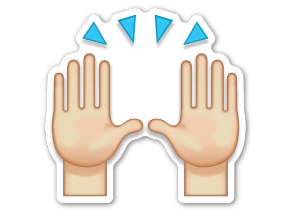 emoji personality hov hands