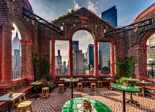 nyc rooftop bars pod39
