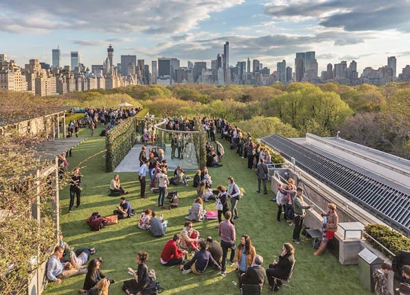 Roof Garden Café At The Met