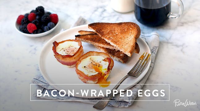 Bacon-Wrapped Eggs