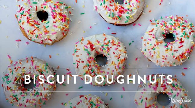 Biscuit Doughnuts