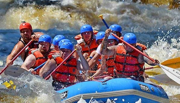 Dabble Rafting