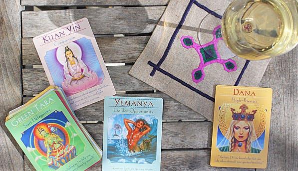 Goddess Cards 597x343