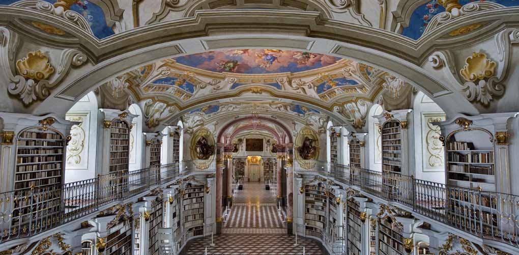 beautiful libraries admont austria