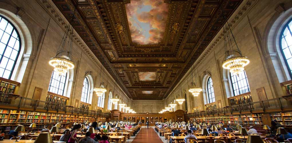 beautiful libraries nypl