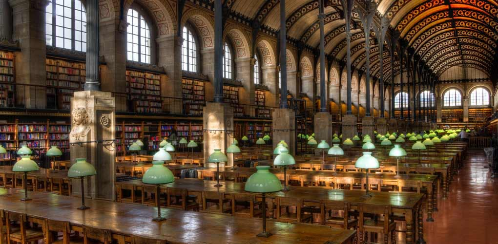 beautiful libraries paris