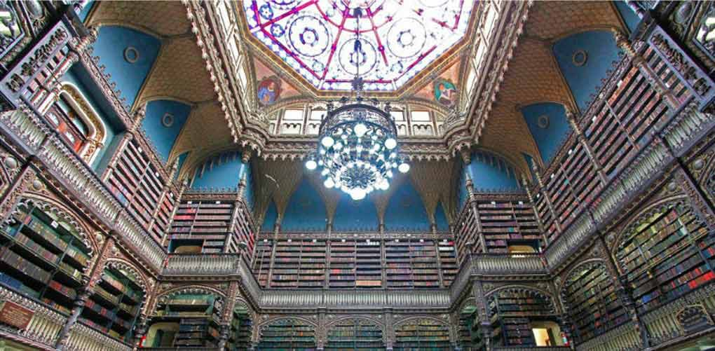beautiful libraries portuguese reading room