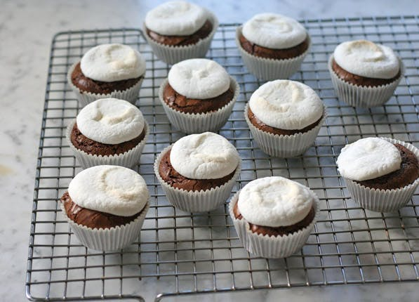 purewow brownie cupcakes