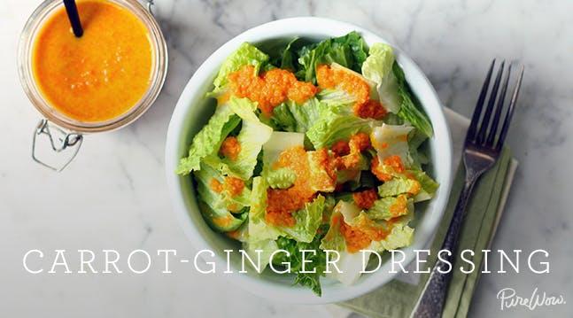 Carrot-Ginger Dressing Recipe