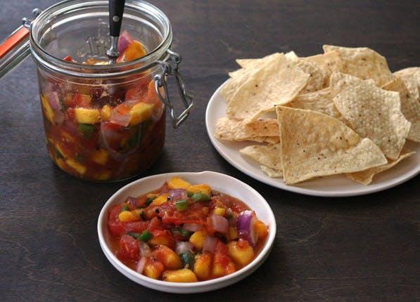 purewow grilled salsa