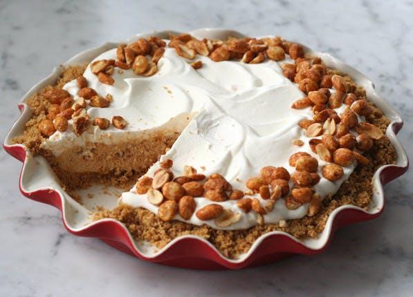 purewow peanut butter pie