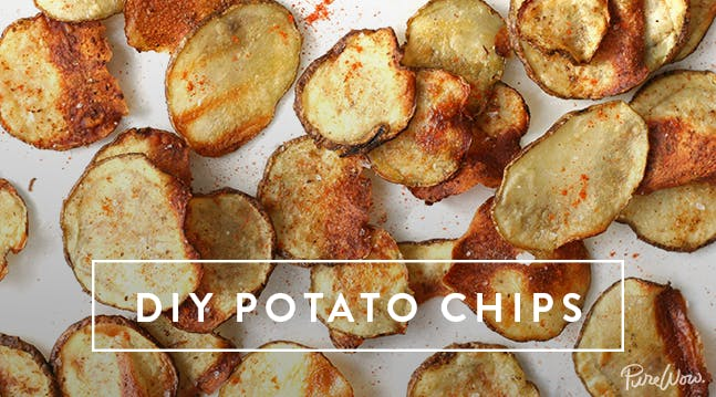 Easy Homemade Potato Chips