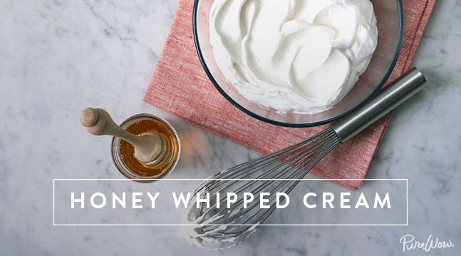 Honey Whipped Cream