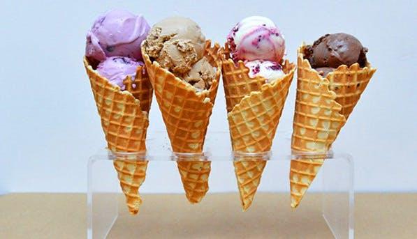 Ice Cream Waffle 597x343