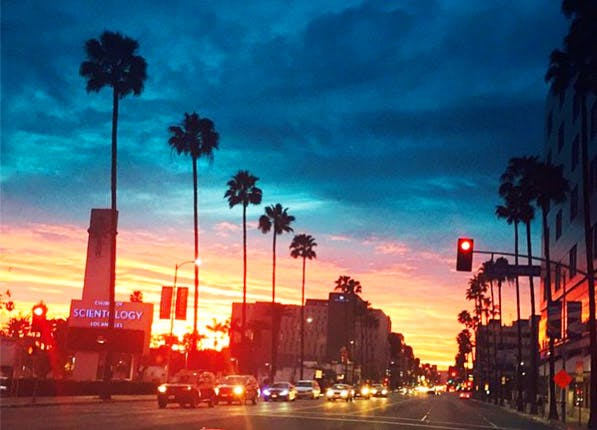 Insta Sunset 597x430