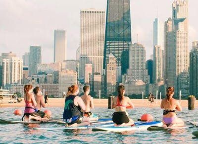 Go Paddleboarding at North Avenue Beach