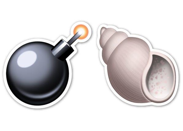 bombshell emoji